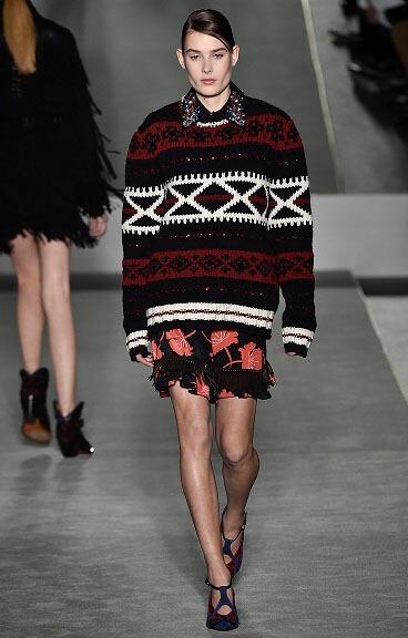 модные туники осень-зима 2016-2017 фото тенденции