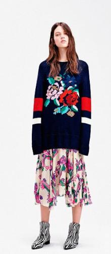 Модные модели свитеров осень-зима 2016-2017