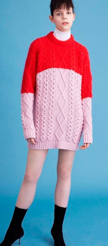 Модные объемные свитера сезона осень-зима 2016-2017
