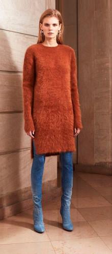 Модные фасоны кофт и свитеров осень-зима 2016-2017