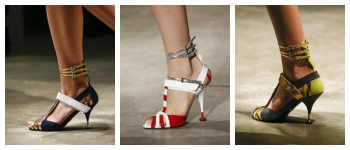 Весенние туфли 2016 от Prada