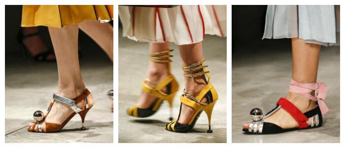 Фото: Модные туфли новинки 2016 от Prada