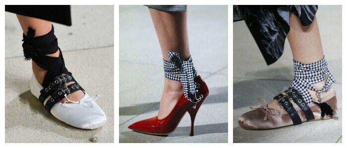 Фото: Модные туфли новинки 2016 от MiuMiu