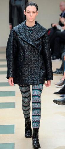 Модные кожаные пиджаки и жакеты сезона осень-зима 2016-2017