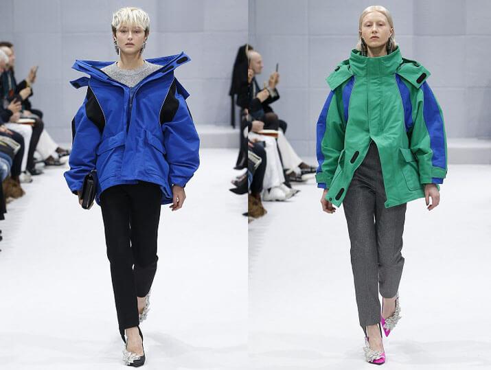 Модные женские пуховики от Alexander Wang осень-зима 2016-2017