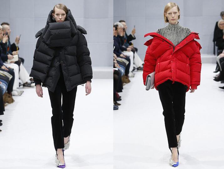 Модные короткие объемные пуховики осень-зима 2016-2017