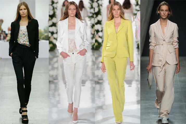 Модный офисный стиль весна-лето 2016 — Деловые костюмы