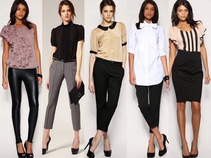 Модный офисный стиль весна-лето 2016 — Блузы