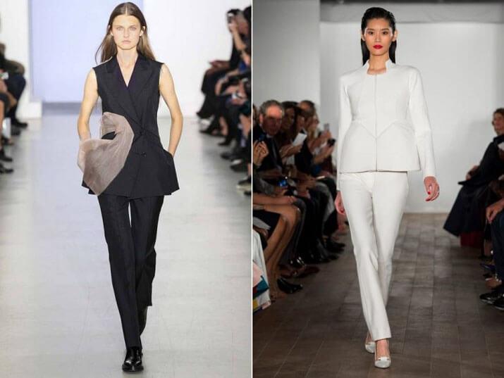 Модный офисный стиль весна-лето 2016 — Деловые брюки