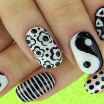Рисунки на ногтях в домашних условиях: фото