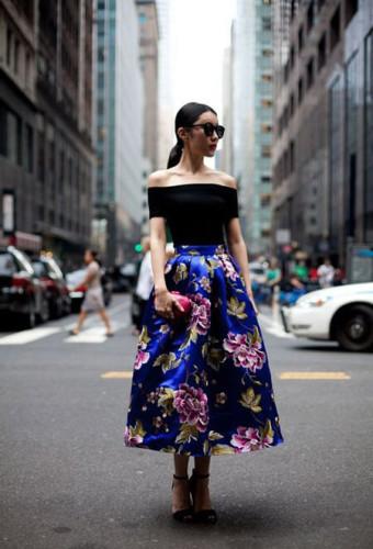 Блузки и топы с открытыми плечами