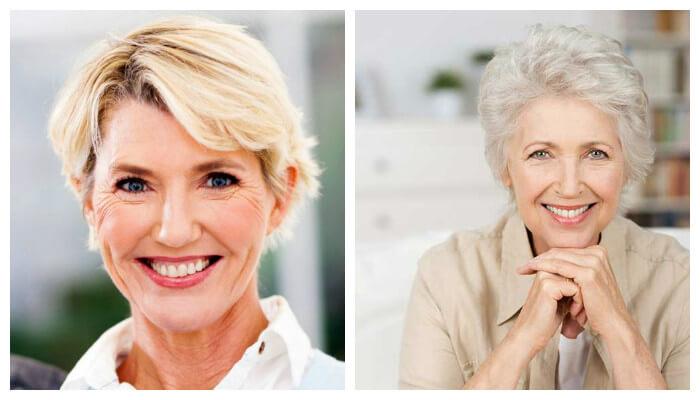 Стрижки для женщин после 50 лет: фото