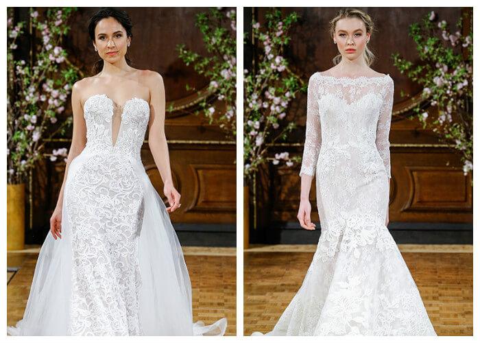Свадебные кружевные платья
