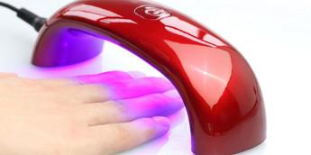 Ультрафиолетовая лампа для сушки ногтей - как пользоваться