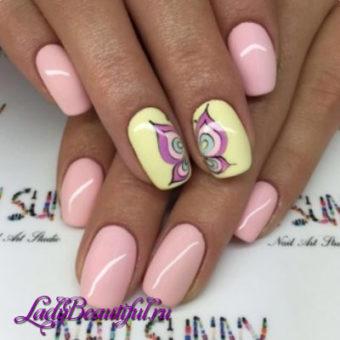 Дизайн ногтей гель-лаком весна-лето 2017: новинки, фото