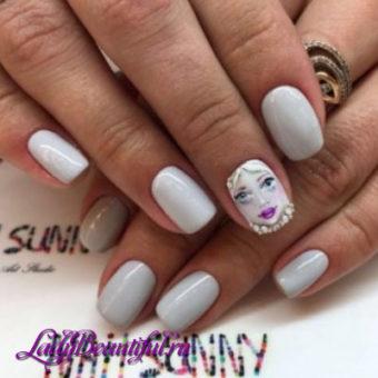 Дизайн коротких ногтей гель-лаком весна-лето 2017: новинки, фото