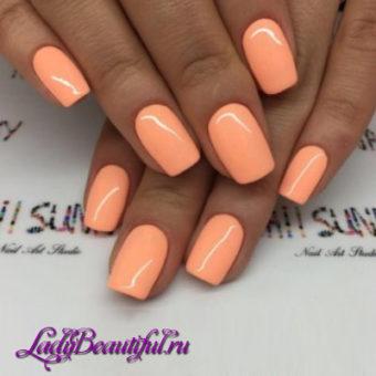 Весенний дизайн ногтей шеллаком 2017: фото