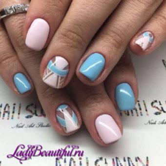 Модные тренды ногтей шеллака весна-лето 2017