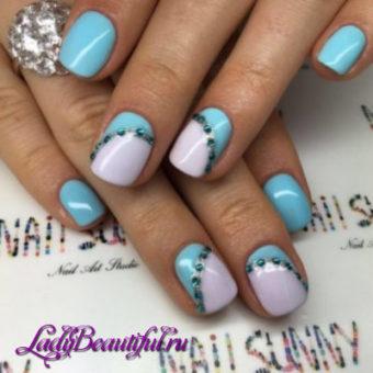 Модный восточный акцент в дизайне ногтей шеллаком 2017