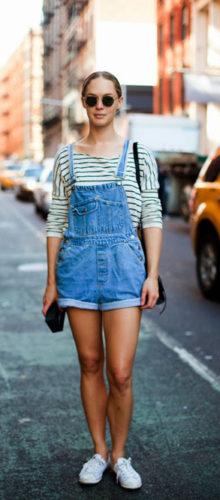 абсолютно летний вариант — комбинезон с шортами