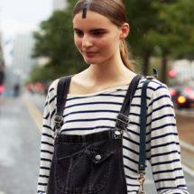 Модные комбинезоны — С чем носить комбинезон?: фото