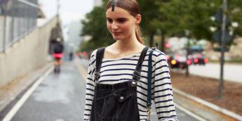 Модные комбинезоны - С чем носить комбинезон?: фото