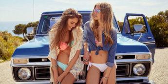 Модные купальники Бершка 2016: новинки, фото, цены