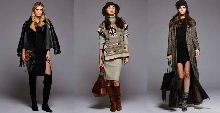 Модные цвета в луках осень-зима 2016-2017: фото