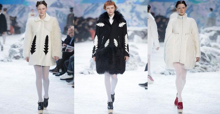 Модная одежда с мехом осень-зима 2016-2017: новинки, фото
