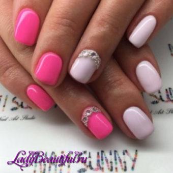 Весенний дизайн ногтей гель-лаком 2017
