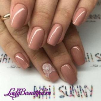 Модные естественные ногти весна-лето 2017