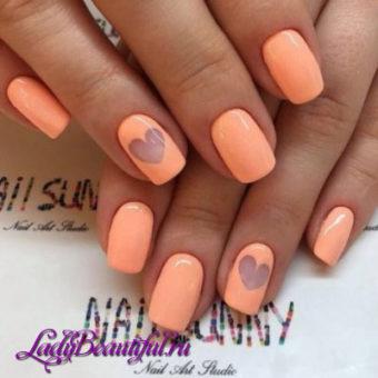 Весенний дизайн ногтей шеллаком 2017