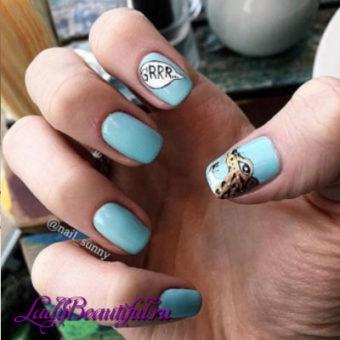 Модные рисунки на ногтях весна-лето 2017