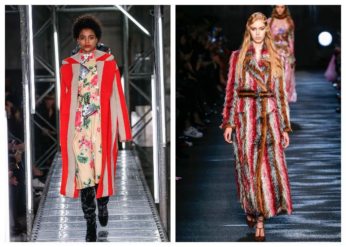 Модные пальто 2017: модные тенденции осень-зима - Полоска