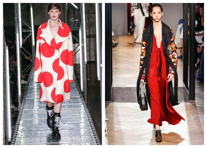 Модные пальто 2017: модные тенденции осень-зима - Яркий принт