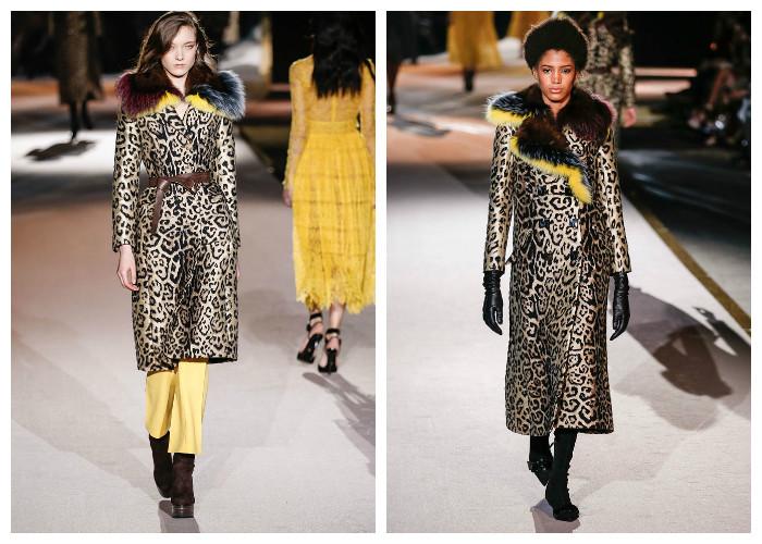 Модные пальто 2017: модные тенденции осень-зима - Леопардовый принт