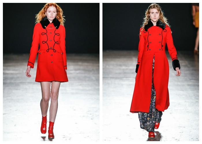 Модные пальто 2017: модные тенденции осень-зима - Мундиры