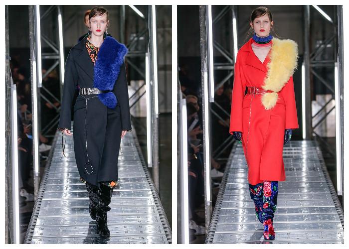 Модные пальто 2017: модные тенденции осень-зима - Мех