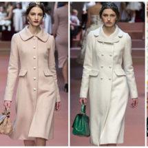 Модные пальто осень-зима: новинки, фото