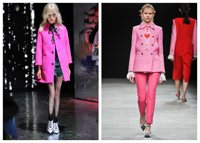 Модные пальто 2017: выбираем цвет