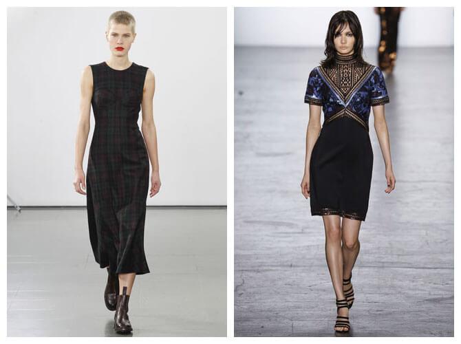 Модные платья 2016: спланированные узоры