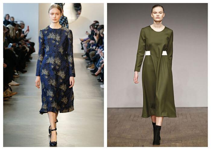 Модные платья - игра цвета