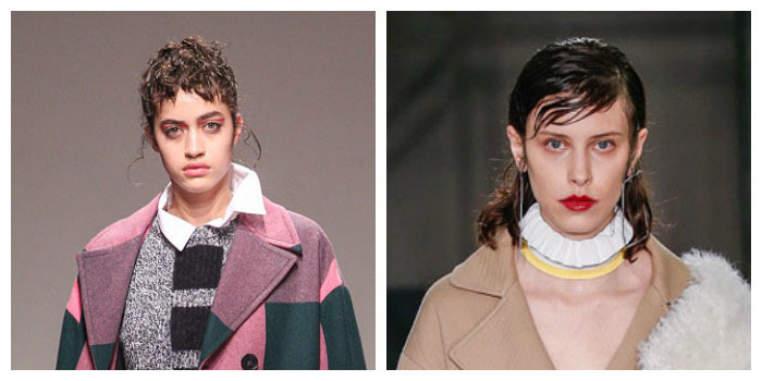 Один из самых модных трендов в прическах 2017 — эффект мокрых волос