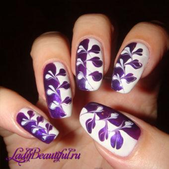 Как накрасить ногти с помощью иголки