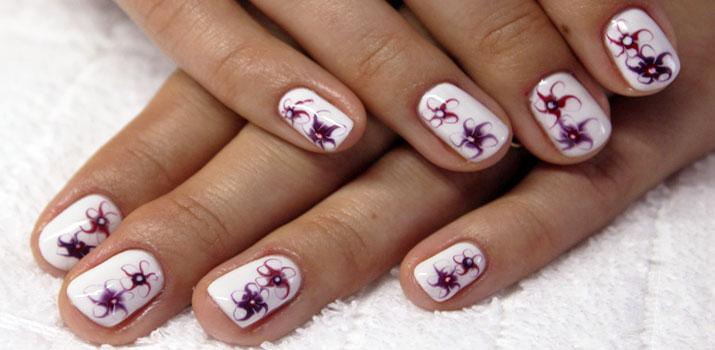 Рисунки на ногтях иголкой: техника выполнения, фото, видео