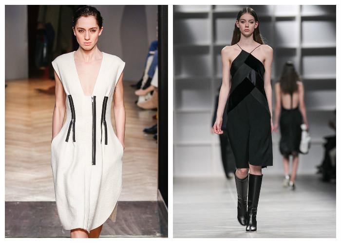 Модные платья 2017, фото. Тенденция: простота и лаконичность