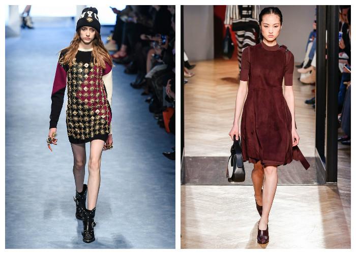 Модные короткие платья 2017, фото