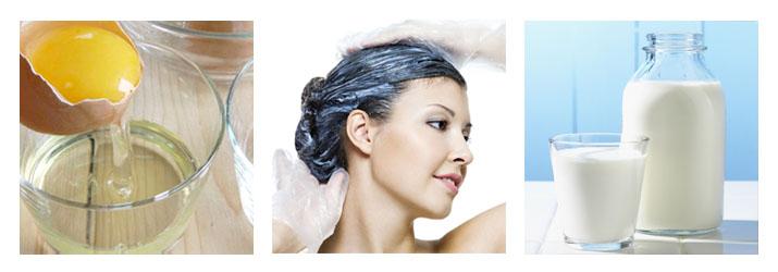 Ламинирование волос яйцо и кефир