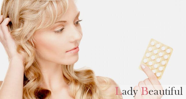 выпадение волос при приеме гормональных контрацептивов