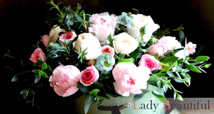 тренды флористики: модные букеты из живых цветов